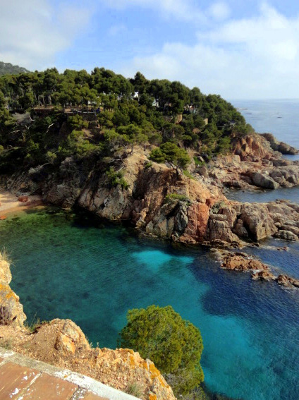 Along the Cami de Ronda near Calella