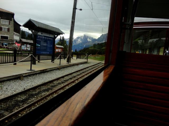 ciao, ciao, Mont Blanc.
