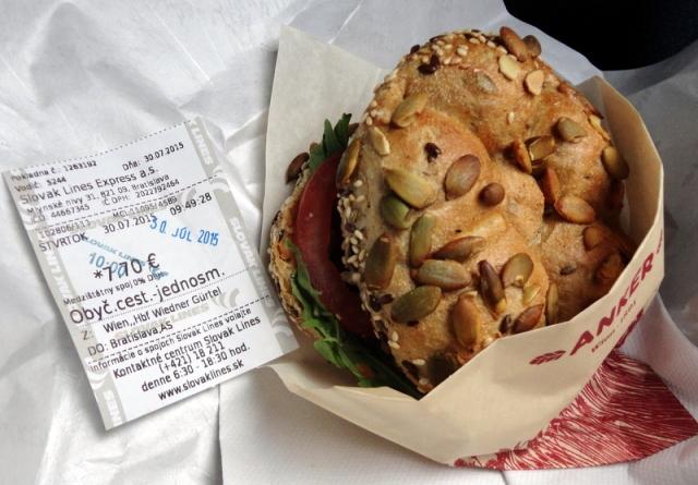 What a divine sandwich!